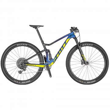 SCOTT SPARK RC 900 TEAM ISSUE AXS 2021 azul y amarilla