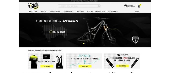 ¡Nueva tienda online de Bike Time!